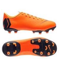Nike Mercurial Vapor 12 Academy MG Fast AF - Oranje/Zwart/Neon Kinderen