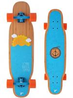 Tempish longboard Mini Nautical 84 x 23 cm blauw