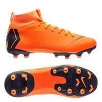 Nike Mercurial Superfly 6 Academy MG Fast AF - Oranje/Zwart/Neon Kinderen