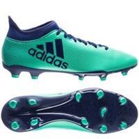 adidas X 17.3 FG/AG Deadly Strike - Groen/Blauw/Groen