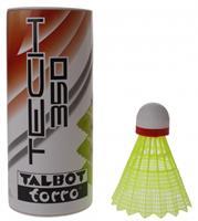 Talbottorro Talbot Torro badminton shuttles Tech 350 geel/rood 3 stuks