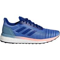Adidas Women's Solar Drive Running Shoes - Lilac/Ink - US 6.5/UK 5 - Purple/Blue