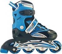 Move inlineskates Adam junior blauw/zwart /37