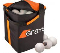 Grays Match 60 Hockeyballen incl tas - wit
