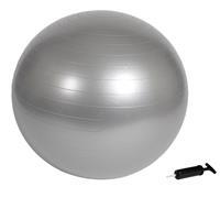 Virtufit Anti-Burst Fitnessbal Pro - Gymbal - Swiss Ball - met Pomp - Grijs - 85 cm