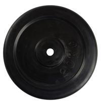 Virtufit Rubberen Halterschijf - Halter gewicht - 30 mm - 20 kg