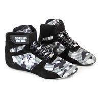 Gorillawear Perry High Tops Pro - Black/Gray Camo - Maat 37
