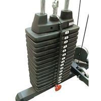 Body-Solid BS Grey Linear Bearing Smith Machine - Gewichtsstapel 95 kg