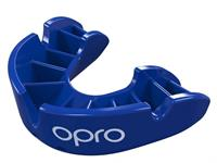 Opro sportbitje Self Fit GEN4 bronze junior blauw