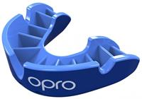 opro Silver Mouthguard Junior - Blauw - Kind