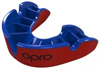 Opro sportbitje Self Fit GEN4 silver junior rood/blauw