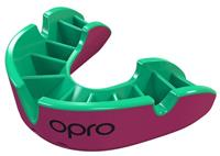 Opro sportbitje Self Fit GEN4 silver junior roze/groen