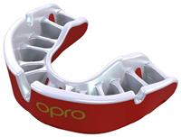 Opro sportbitje Self Fit GEN4 gold junior wit/rood