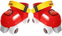 disney rolschaatsen met bescherming Cars rood