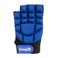 Reece Comfort Half Finger Glove - Blue