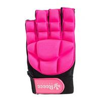 Reece Comfort Half Finger Glove - Pink
