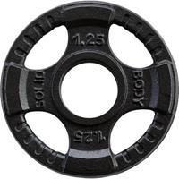 Body-Solid Olympische gietijzeren halterschijven 50 mm OPTK - 1.25 KG