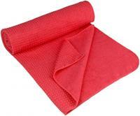 Avento Yoga Handdoek Antislip roze