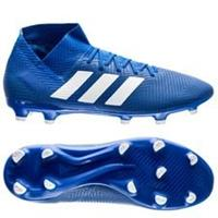 adidas Nemeziz 18.3 FG/AG Team Mode - Blauw/Wit