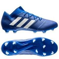 adidas Nemeziz 18.2 FG/AG Team Mode - Blauw/Wit