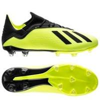 adidas X 18.2 FG/AG Team Mode - Geel/Zwart/Wit