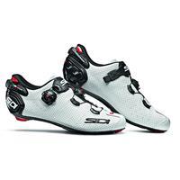 Sidi Wire 2 Carbon Air Road Shoes - White/Black - EU 40 - White/Black