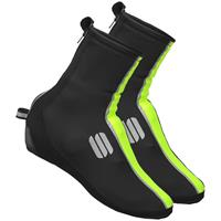 Wind Stopper Reflex 2 Booties - M - Black/Yellow Fluo