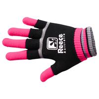 Reece Knitted Player Glove 2 in 1 Zwart/Rose