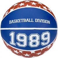 Newport basketbal Division bruin/blauw maat 5