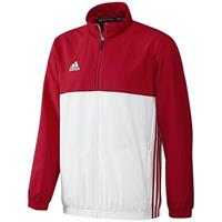 Adidas T16 Team Jacket Men Red DISCOUNT DEALS