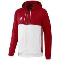 Adidas T16 Hoody Men Red DISCOUNT DEALS