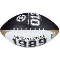 American Football mini zwart/wit maat 3