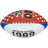 New Port American Football large 28 cm bruin/blauw/wit