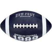 American Football large 28 cm marineblauw/wit