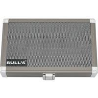 Bull's Bull´s dartkoffer Dartsafe L zilver 19 x 12 x 4 cm