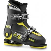 Roces skischoenen Idea Up junior zwart/lime  35