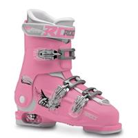 Roces skischoenen Idea Up meisjes roze/wit  40