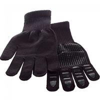 Brabo Wintergloves Plain Black Senior