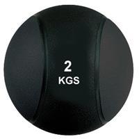 Virtufit Medicijnbal Pro - 2 kg - Rubber - Zwart