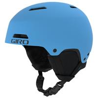 skihelm Crue junior matblauw