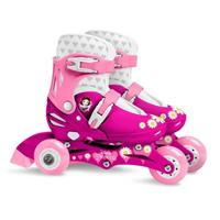 disney verstelbare inlineskates Princess meisjes roze