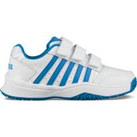 K-Swiss Tennisschoenen Court Smash Kids Klittenband White