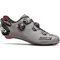 SIDI Wire 2 Carbon Matt Road Shoes - Matt Grey/Black - EU 41 - Matt Grey/Black