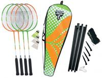 Talbottorro badmintonset Attacker Plus 9-delig