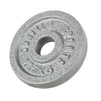 Halterschijf 1,25 kg Gietijzer - Doorsnede 12,5 cm