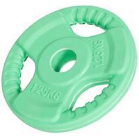 Halterschijf 1,25 kg Gripper Gietijzer (rubber coating)