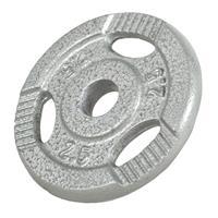 Halterschijf 2,5 kg - Gripper- Zilver
