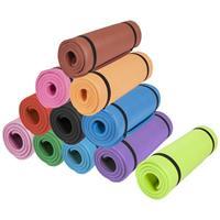 Yogamat Deluxe (190 x 60 x 1,5 cm) rood