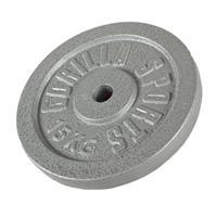 Halterschijf 15 kg Gietijzer (grijs)