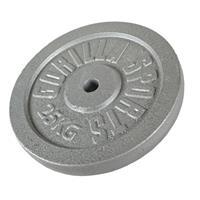 Halterschijf 25 kg Gietijzer Grijs (30/31 mm)